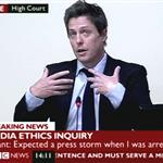 Hugh Grant in court to give evidence at The Leveson Inquiry  98950