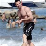 Hugh Jackman on holiday in Spain with his family 118285