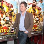 Hugh Grant attends The Pirates: Band of Misfits special screening held at the AMC Empire in Times Square New York City 112086