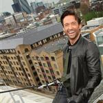 Hugh Jackman performs stunt in London to support charity and promote Wolverine 37023