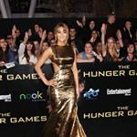 Jennifer Lawrence at the world premiere of The Hunger Games  108794