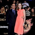 Stanley Tucci and Felicity Blunt at the world premiere of The Hunger Games  108814
