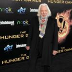 Donald Sutherland at the world premiere of The Hunger Games 108824