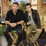 Liam Hemsworth and Josh Hutcherson appear on The Marilyn Denis Show in Toronto  109264