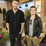 Liam Hemsworth and Josh Hutcherson appear on The Marilyn Denis Show in Toronto  109266
