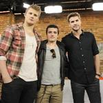 Alexander Ludwig, Josh Hutcherson and Liam Hemswoth appear on The Marilyn Denis Show in Toronto  109268