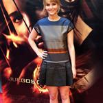 Jennifer Lawrence at the Spanish premiere of 'The Hunger Games' 109859