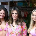Elizabeth Hurley opens beach boutique at Oxfordshire shopping outlet 36055