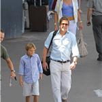 Elizabeth Hurley vacations with husband, Hugh Grant, and son in South of France 67569