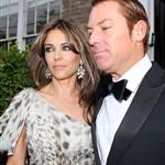 Elizabeth Hurley takes Shane Warne to Elton John's White Tie and Tiara party 88412