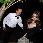 Elizabeth Hurley takes Shane Warne to Elton John's White Tie and Tiara party 88414