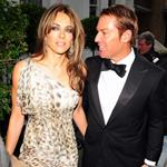 Elizabeth Hurley takes Shane Warne to Elton John's White Tie and Tiara party 88421