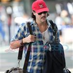 Jack Huston leaves Vancouver 45699