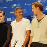 TIFF Photos: Evan Rachel Wood, George Clooney and Ryan Gosling at Ides of March press conference.  Photos from Matt Carr/Jason Merritt/Gettyimages.com 93791