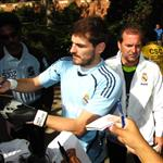 Iker Casillas at Real Madrid practice in LA without Sara Carbonero 66531