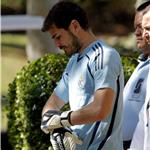 Iker Casillas at Real Madrid practice in LA without Sara Carbonero 66533
