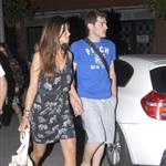 Iker Casilla and Sara Carbonero have dinner with friends and family after World Cup victory week July 2010  65286
