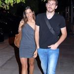 Iker Casillas and Sara Carbonero in Madrid leaving a bar September 2010 69161