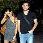 Iker Casillas and Sara Carbonero in Madrid leaving a bar September 2010 69163