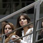 Sara Carbonero watches Iker Casillas play in charity match December 2010  75870