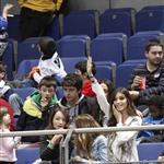 Sara Carbonero watches Iker Casillas play in charity match December 2010  75874