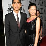 Dev Patel and Freida Pinto at the LA Film Critics Association Awards on Monday 30642