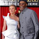 Gwyneth Paltrow and Scarlett Johansson both wear white Armani to LA premiere of Iron Man 2 59633