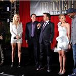 Gwyneth Paltrow and Scarlett Johansson both wear white Armani to LA premiere of Iron Man 2 59634