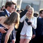 Gwyneth Paltrow and Scarlett Johansson both wear white Armani to LA premiere of Iron Man 2 59637