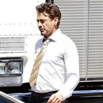 Robert Downey Jr on the set of Iron Man 2 36275