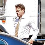 Robert Downey Jr on the set of Iron Man 2 36269