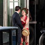 Isla Fisher as Myrtle Wilson on the set of The Great Gatsby  97248