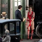 Isla Fisher as Myrtle Wilson on the set of The Great Gatsby  97249
