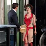 Isla Fisher as Myrtle Wilson on the set of The Great Gatsby  97251