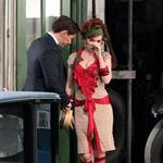 Isla Fisher as Myrtle Wilson on the set of The Great Gatsby  97260