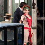 Isla Fisher as Myrtle Wilson on the set of The Great Gatsby  97261