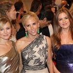 Kristen Bell and Isla Fisher with Tory Burch at Met Gala 2011 84549