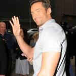 Hugh Jackman arrives at Good Morning America to promote Wolverine 37984