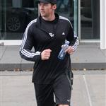 Hugh Jackman goes running on his final day as Sexiest Man Alive 50809