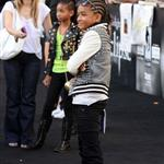 Jaden and Willow Smith at Eclipse premiere 64082