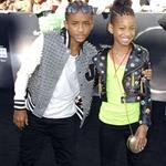 Jaden and Willow Smith at Eclipse premiere 64086