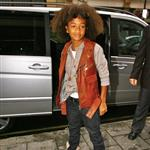 Jaden Smith leaves BBC studios in London  65239