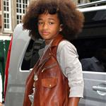 Jaden Smith leaves BBC studios in London  65243