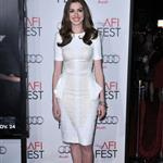 Anne Hathaway Jake Gyllenhaal at AFI premiere of Love & Other Drugs 72385