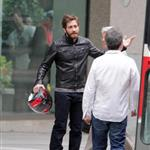 Jake Gyllenhaal on the set of An Enemy in Toronto 115806