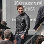 Jake Gyllenhaal on the set of An Enemy in Toronto 115816