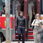 Jake Gyllenhaal on the set of An Enemy in Toronto 115822