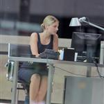 Melanie Laurent on the set of An Enemy in Toronto 115830
