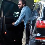 Jake Gyllenhaal visits a friend with a heavy beard 67806
