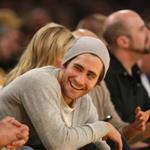 Jake Gyllenhaal and Reese Witherspoon at Laker game 30065